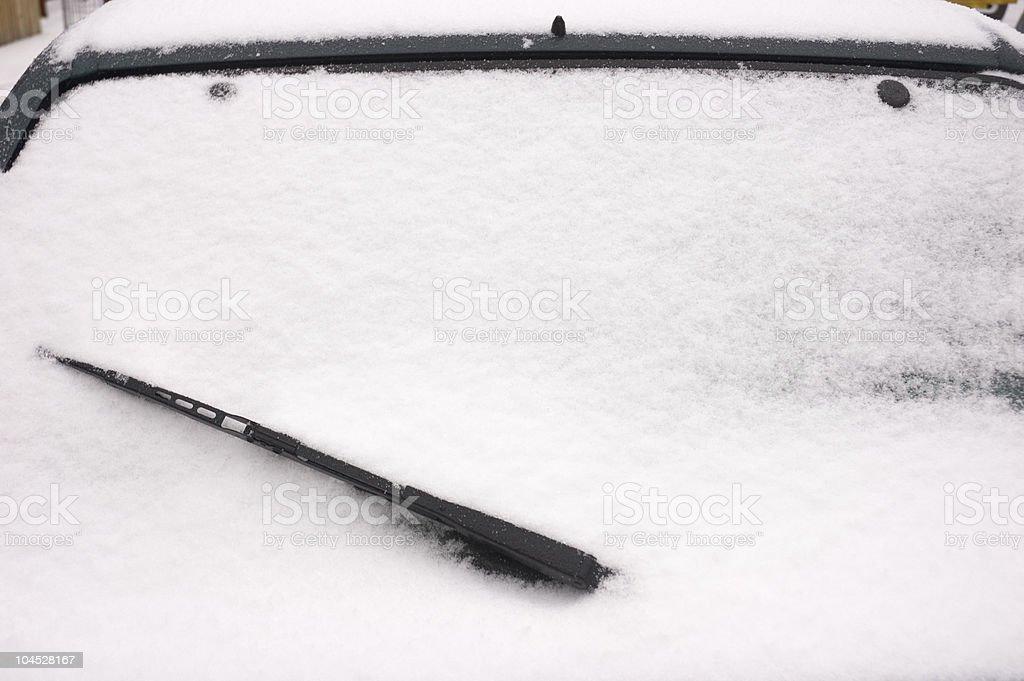 Winter Motoring stock photo