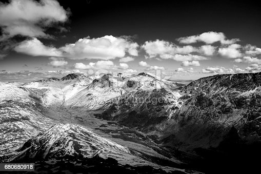 istock Winter Mountain Views in the Lake District National Park, Cumbria, UK 680680918