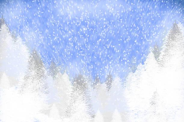winter-natur hintergrund - es schneit text stock-fotos und bilder