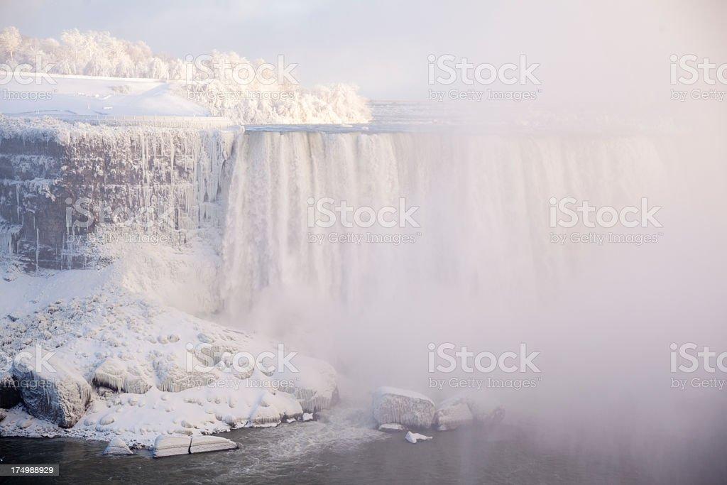 Winter Niagara Falls royalty-free stock photo