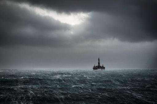 Winter North Sea