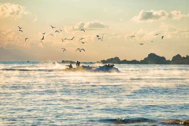 Winter Ocean stock photo