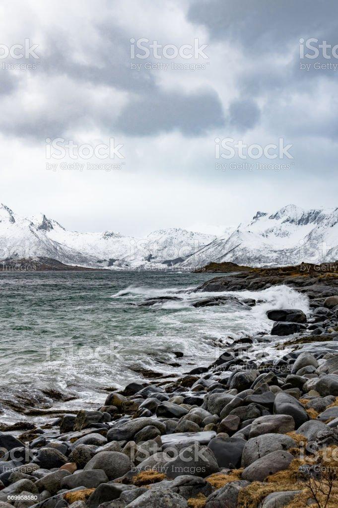 Winter of Norway stok fotoğrafı