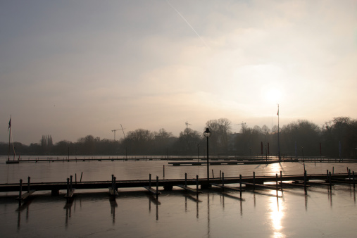 Winter on the Aussenalster