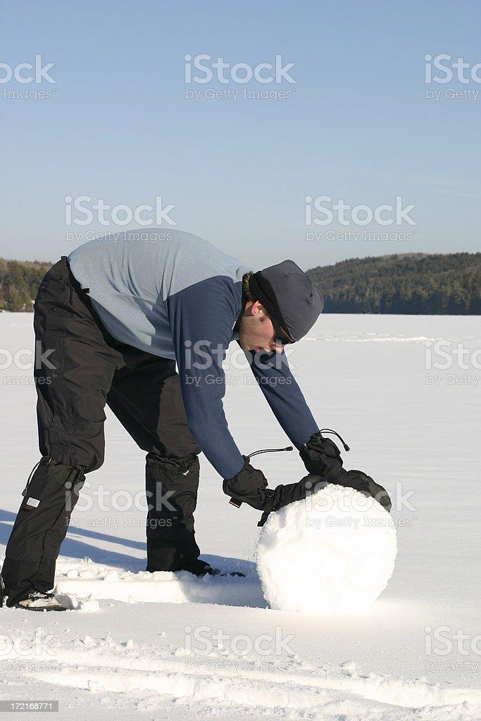 Winter Outdoor Fun royalty-free stock photo