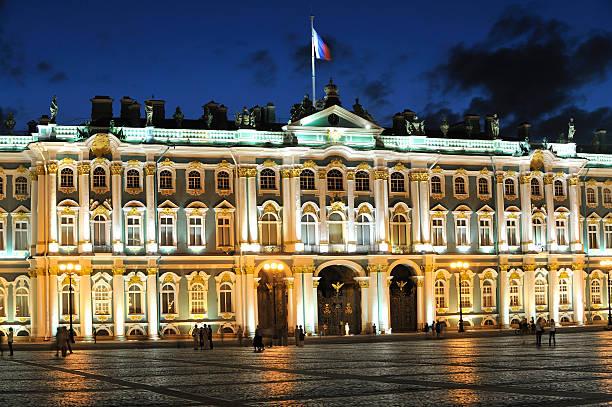 Winter Palace bei Nacht – Foto