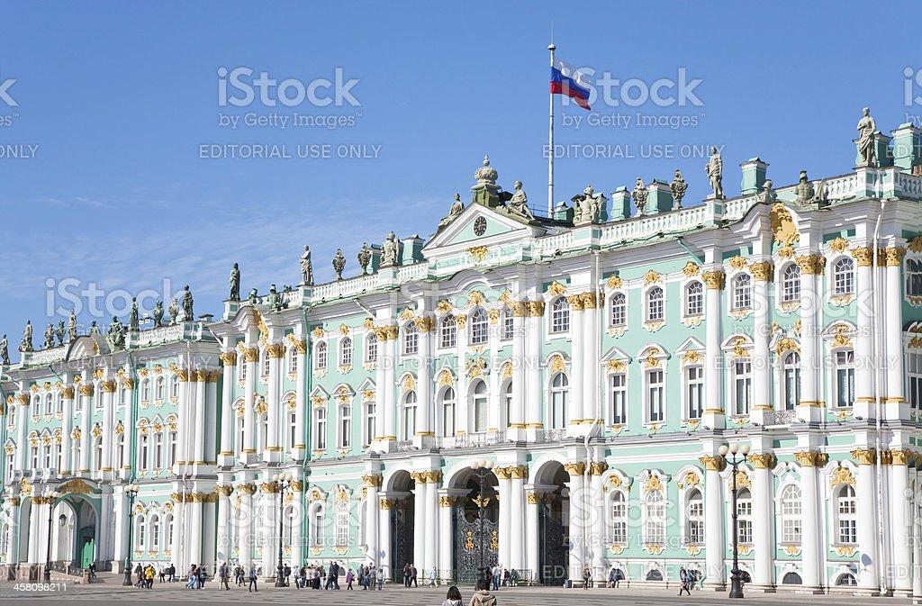 Winter Palace, St.Petersburg, Russia stock photo