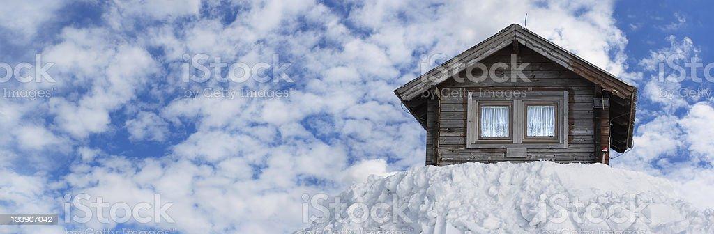 Winter Panorama (XL) royalty-free stock photo