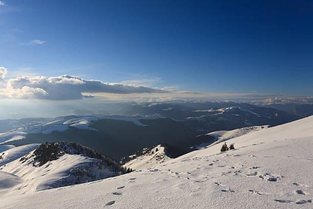 panorama invernale - foto stock