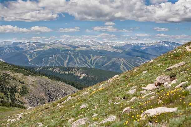 Winter Park, Mary Jane ski resort, Colorado stock photo