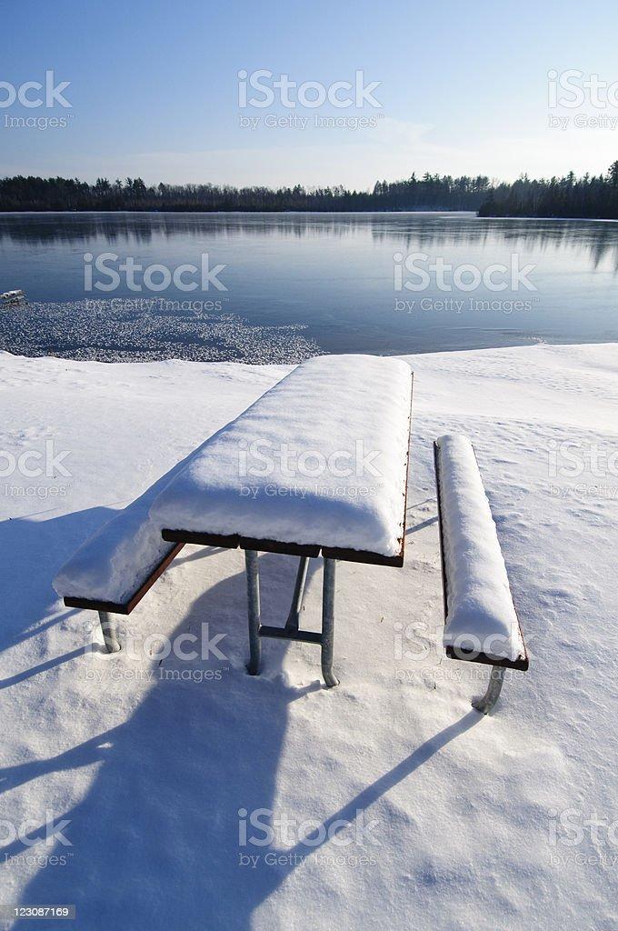 Winter Park stock photo