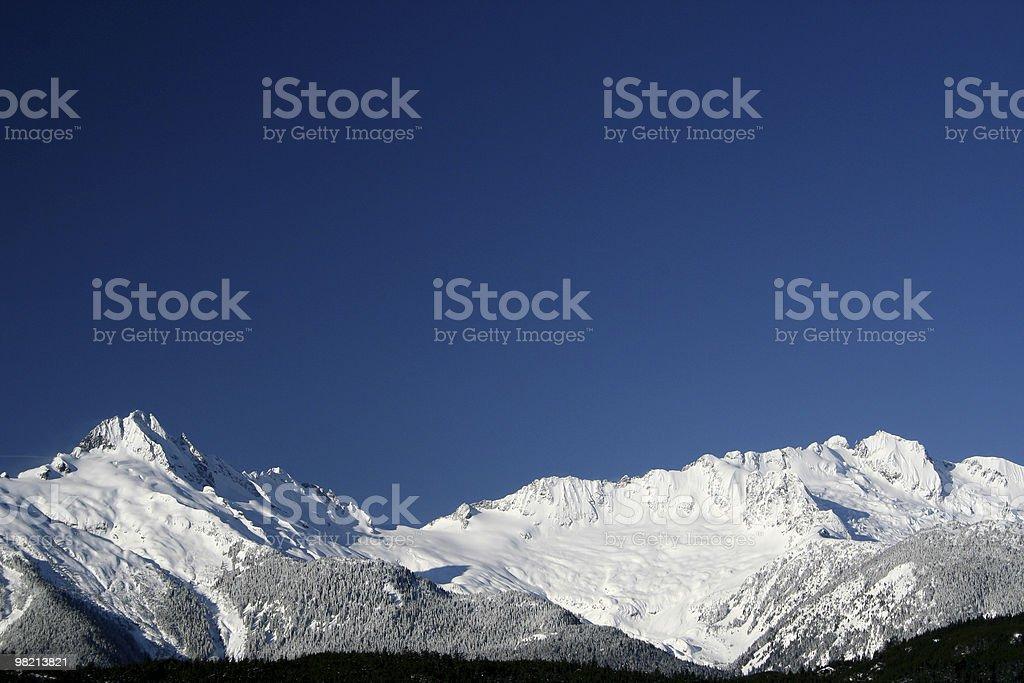 Winter Peaks royalty-free stock photo