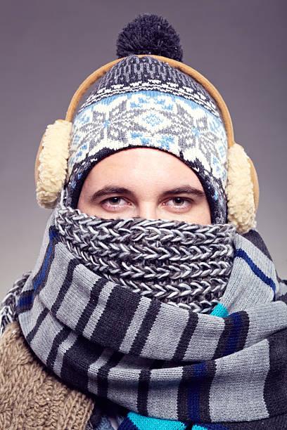 winter - - mützenschal stock-fotos und bilder