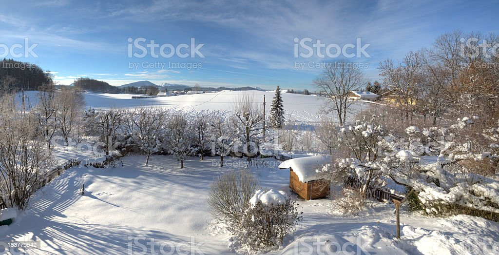 winter (hdr-image) royalty-free stock photo