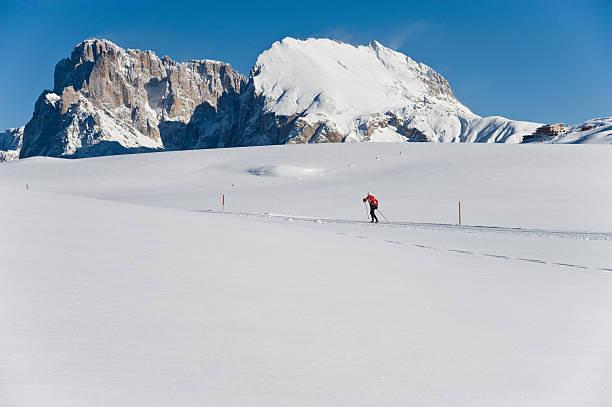 winter - - seiser alm stock-fotos und bilder
