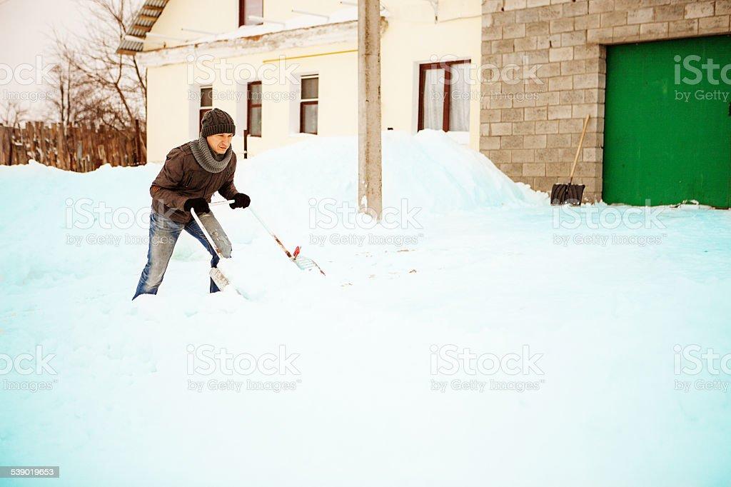 Winter. stock photo