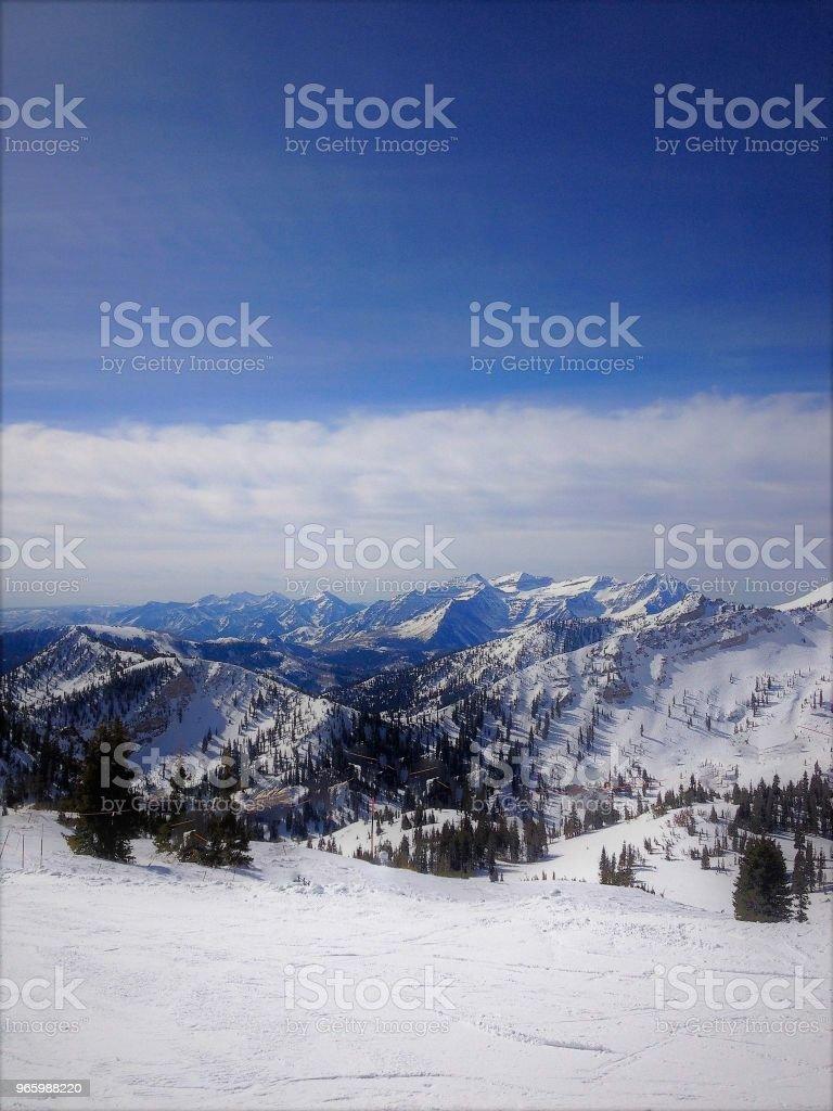 Winter -  - Lizenzfrei Berg Stock-Foto