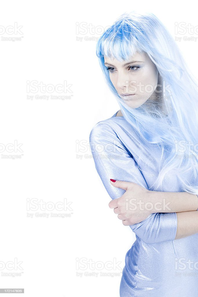 Winter Portrait royalty-free stock photo
