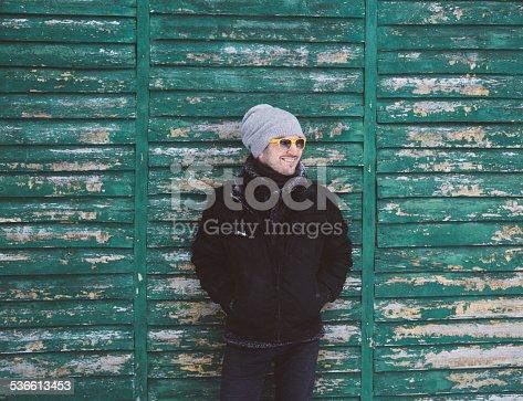 istock Winter portrait 536613453