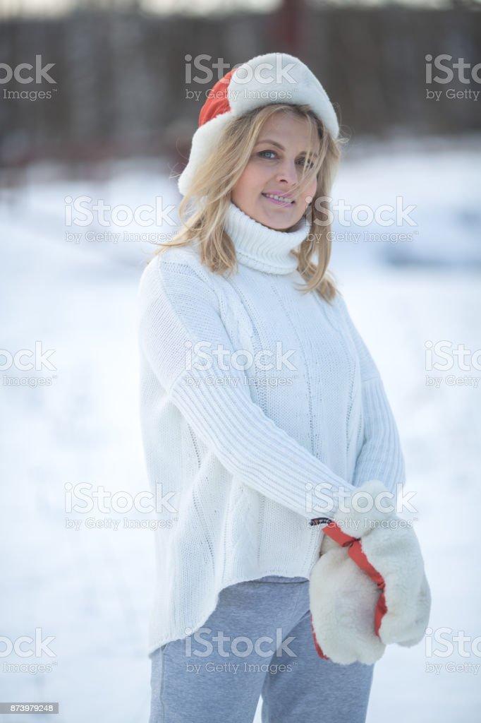 Зимний портрет royalty-free stock photo