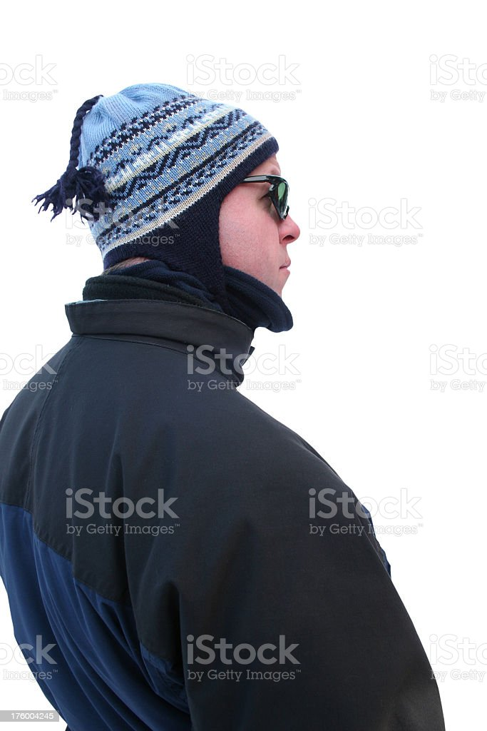 Winter Profile royalty-free stock photo
