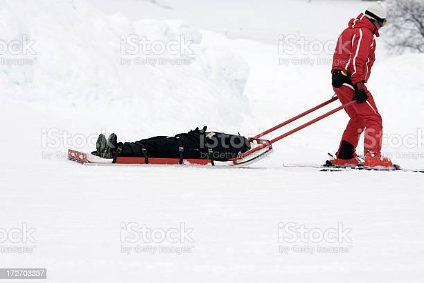 Photo of winter rescue