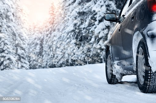 istock winter road in the morning 505208284