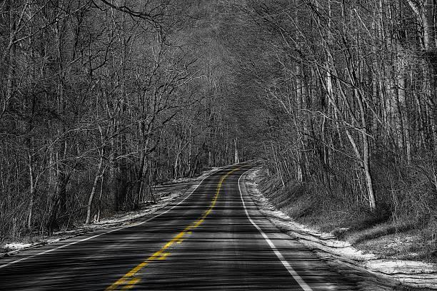 Route d'hiver - Photo