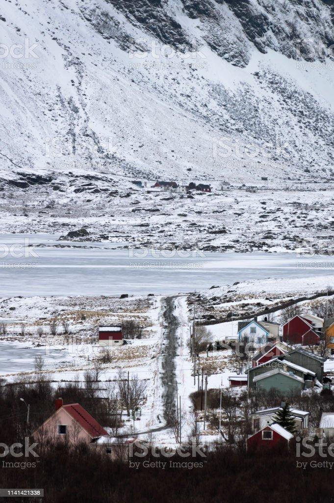 Winter Roads royalty-free stock photo
