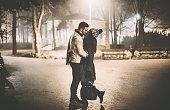 istock Winter romance. 502862506