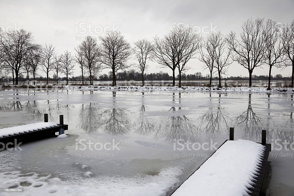 Winter scenery # 2 XXXL royalty-free stock photo