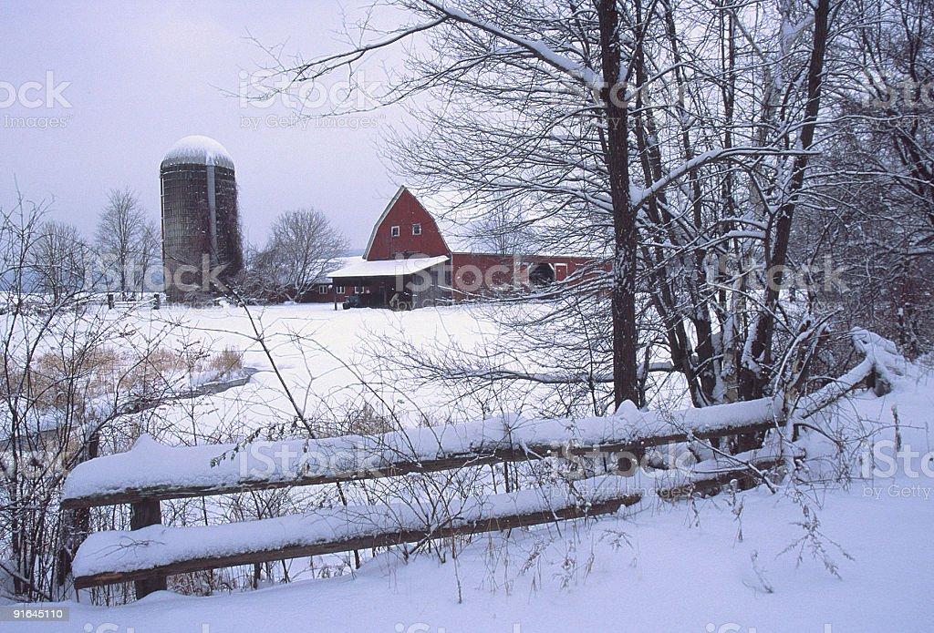 Winter Scenic royalty-free stock photo