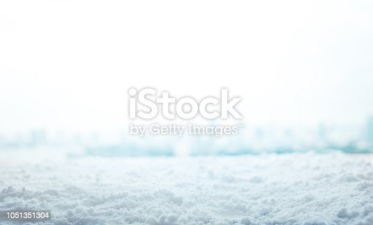 Winter season,christmas background with snow,no people,ant eye view