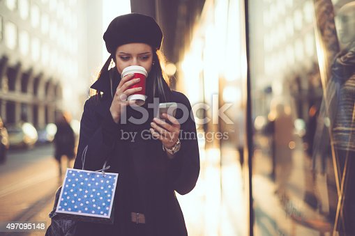 istock Winter shopping season 497095148