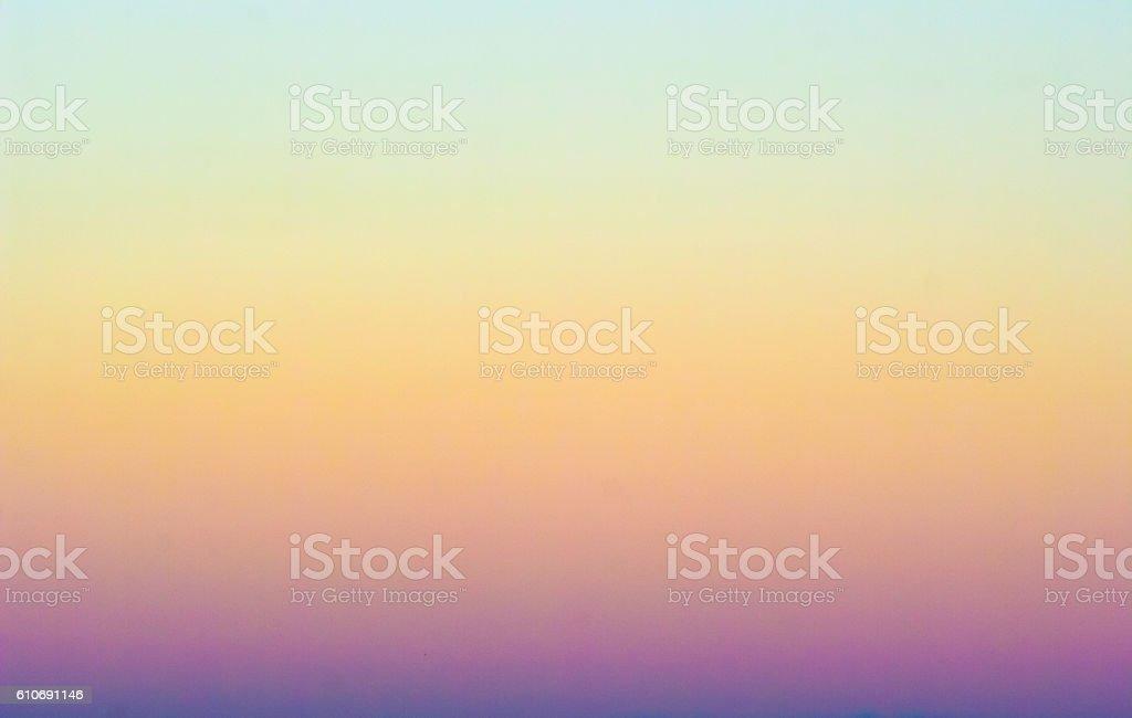 Winter Sky colors stock photo