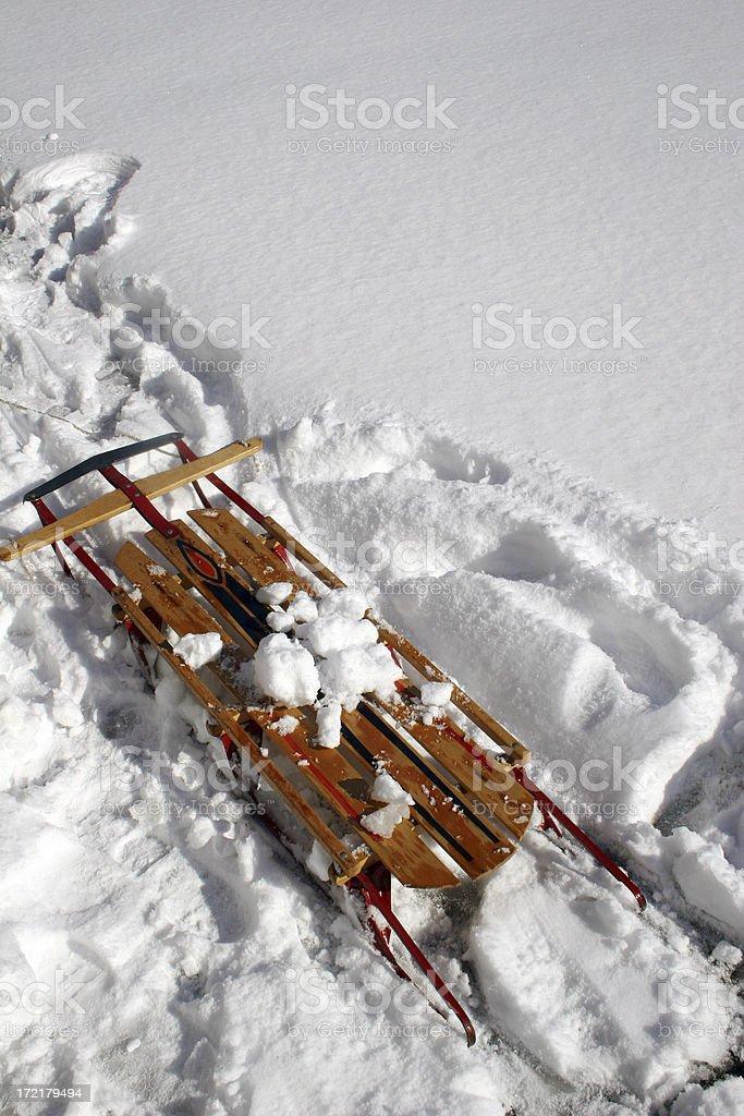 Winter Sled II royalty-free stock photo
