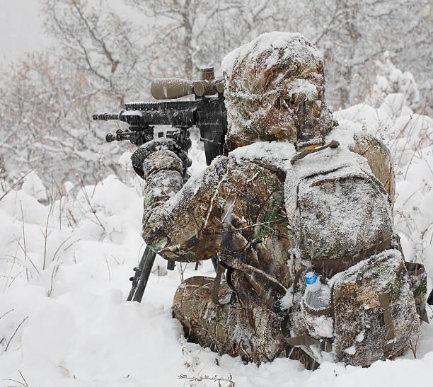 Winter Scharfschütze – Foto