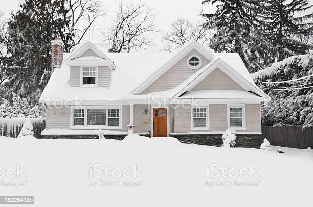 Winter snow craftman cape cod style home picture id162264365?b=1&k=6&m=162264365&s=612x612&h=s6omshohy2j7deabkxgsnitjt37zvxl378twvtzs6cg=