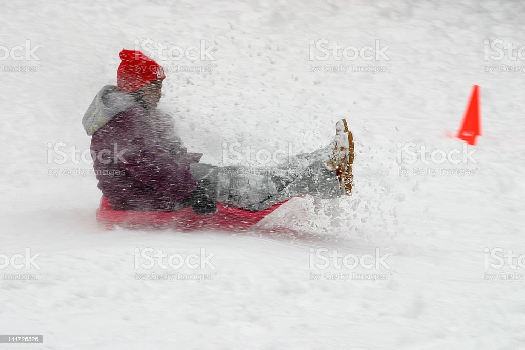 Winter: snow day II royalty-free stock photo