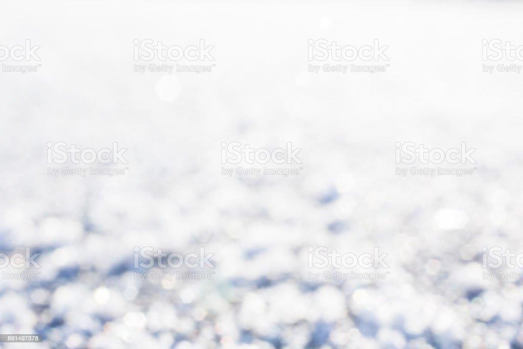 Winter snow texture background. stock photo