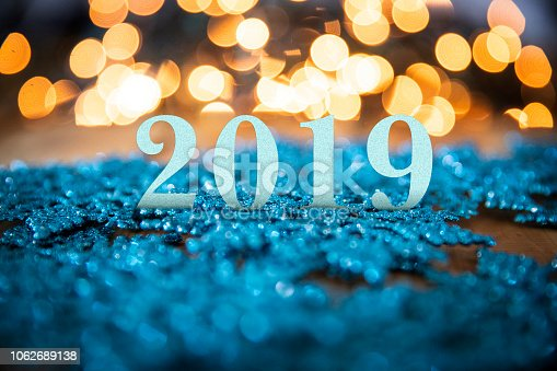 istock 2019 Winter Snowflake Decorations 1062689138