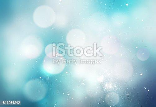 847752786 istock photo Winter snowy blue blurred background. 811264242