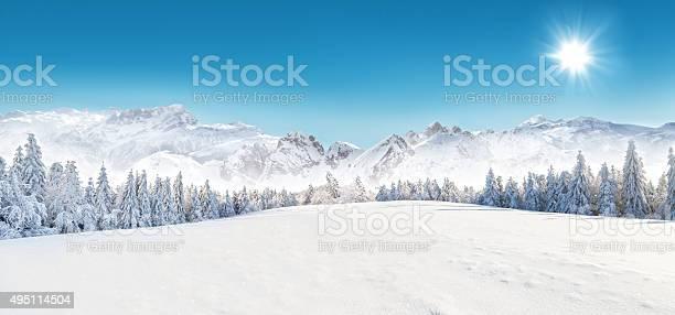 Winter Schnee Landschaft Stockfoto und mehr Bilder von 2015