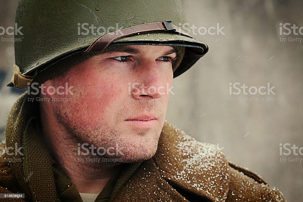 NACH DEM ZWEITEN WELTKRIEG Winter Soldaten – Foto