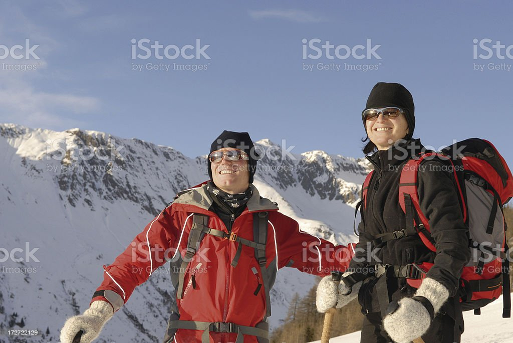 winter sport mountain stock photo
