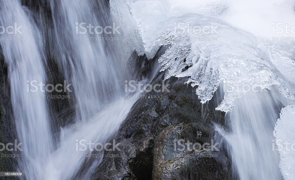 winter stream royalty-free stock photo