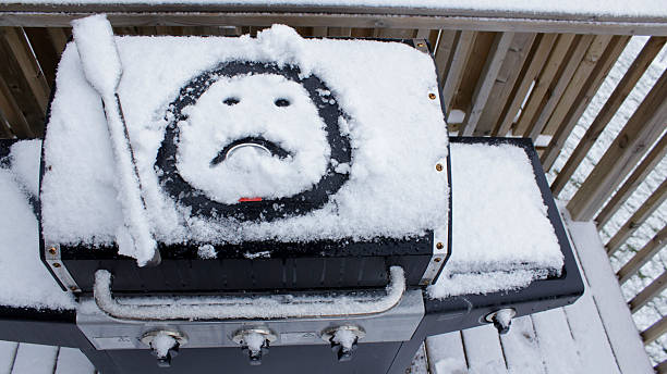 Winter Sucks stock photo