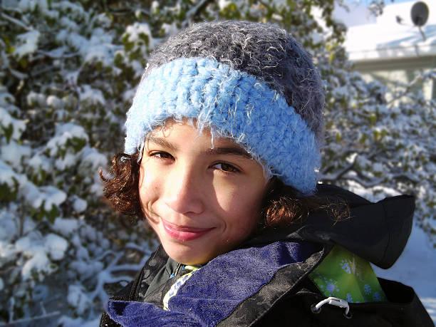 Winter Sunlight stock photo