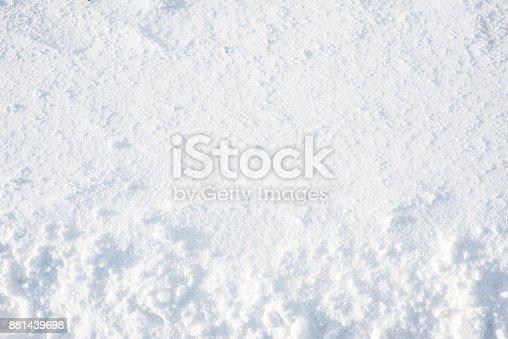 629589448 istock photo Winter texture, snow background 881439698