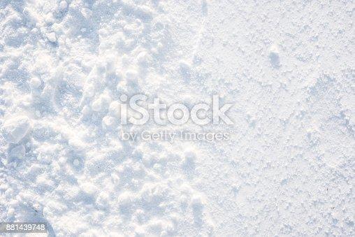 629589448 istock photo Winter texture, snow background 881439748